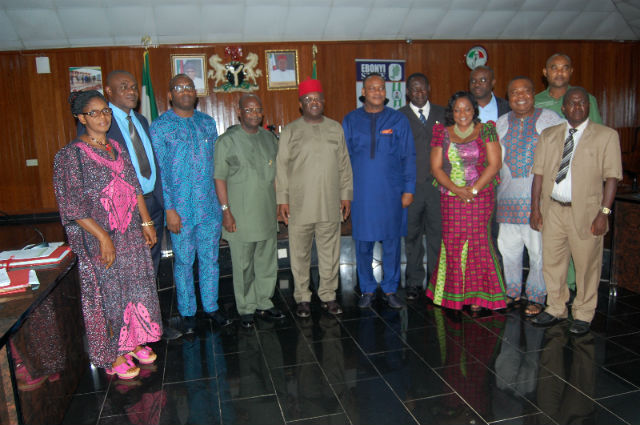 governor-david-umahi-inaugurates-committees-on-sdg-projects-abakaliki-ring-road