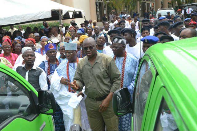 Inauguration of Ekiti Grazing Enforcement Marshalls by Governor Ayo Fayose