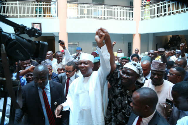 saraki-vindicated-exclusive-pictures-of-senate-president-bukola-saraki-and-dsp-ike-ekweremadu-at-court-2
