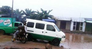 Flooding Dilapitated State of Ikorodu Lagos Nigeria