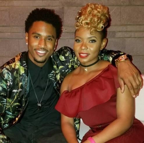 Yemi Alade and Trey Songz