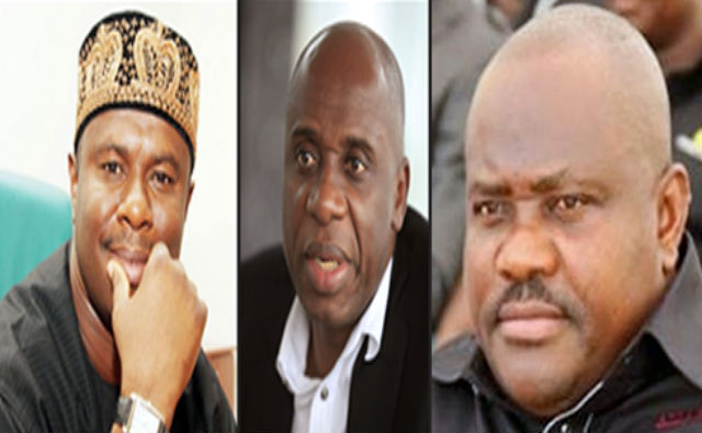 Image result for wike dakuku peterside amaechi