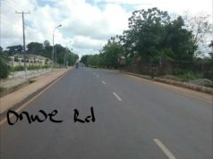 Ebonyi State Road Projects Onwe Road