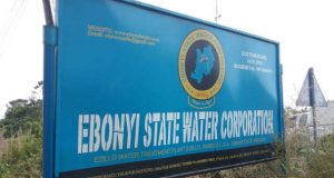 Ebonyi State Water Corporation Signboard