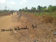 Internal roads at Onueke Ebonyi State