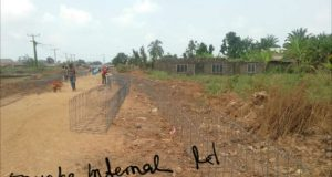 Internal roads at Onueke Ebonyi State