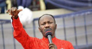 Apostle Johnson Suleiman of The Omega Fire Ministries Worldwide