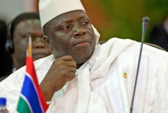 Gambian President Yahya Jammeh