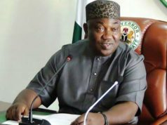 Governor Ifeanyi Ugwuanyi of Enugu State