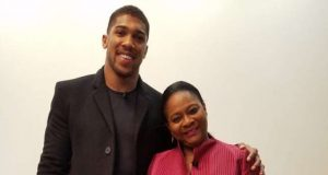 Anthony Joshua and Arunma Oteh