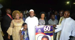 Ogbeni At  CAN service to mark Aregbesolas th Birthday