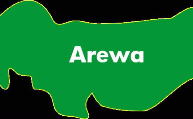 Map of Arewa Northern Nigeria