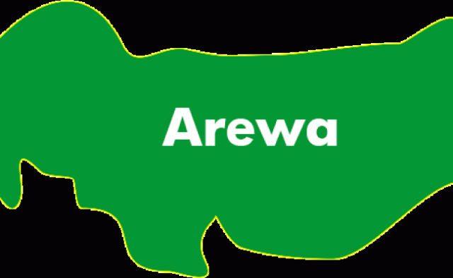 Map of Arewa Northern Nigeria