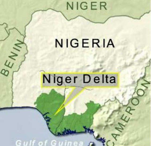 Nigeria Niger delta Rondel
