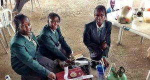 Urine powered Generator made by Nigerian School Girts