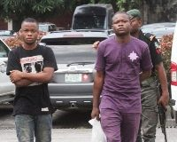 suspected Internet fraudster Folusho Oguntoyinbo also known as Sydney