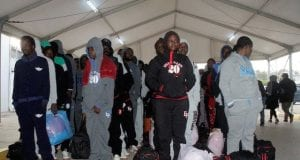 African Immigrants await Deportation from Libya