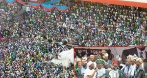 All Progressive Congress APC Muhammadu Buhari Presidential Rally in Osun State