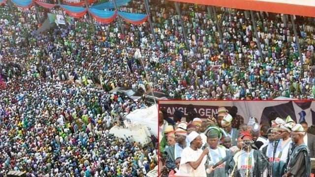 All Progressive Congress APC Muhammadu Buhari Presidential Rally in Osun State