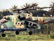 Attack Helicopter of the Nigerian Air Force