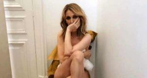 Celine Dion Poses Naked