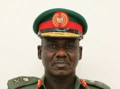 Chief of Army Staff Lt