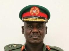 Chief of Army Staff Lt