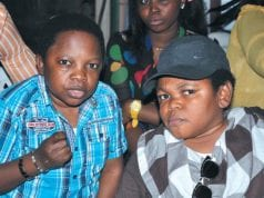 Chinedu Ikedieze Aki Osita Iheme Pawpaw relaxing at an event