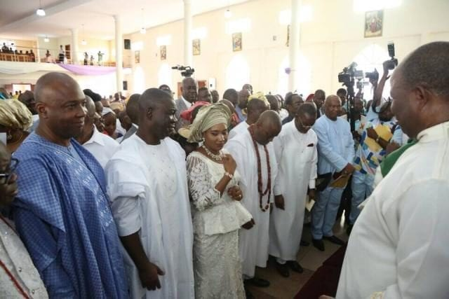 Cross-section of Guests at the 60th Birthday Thanksgiving Service of Senator Peter Nwaoboshi