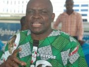 Former Ekiti State governor, Ayo Fayose