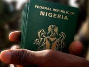 Federal Republic of Nigeria Travel Passport Old International Passport