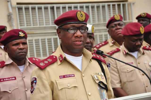 Federal Road Safety Corps FRSC Marshall Adeboboye Oyeyemi
