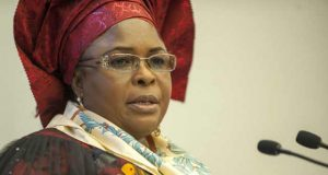 Former First Lady Dame Patience Jonathan