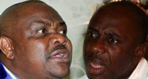 Governor Nyesom Wike and Hon Rotimi Amaechi