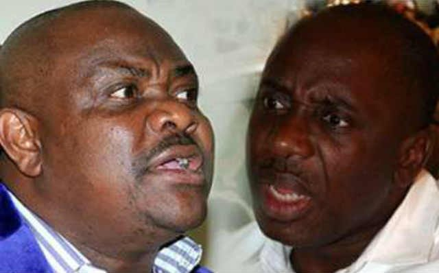 Governor Nyesom Wike and Hon Rotimi Amaechi