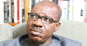 Governor of Edo State Godwin Obaseki