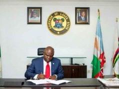 Governor of Lagos State Akinwunmi Ambode