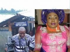 Hon Kate Owoko and her Modern Floating Toilet