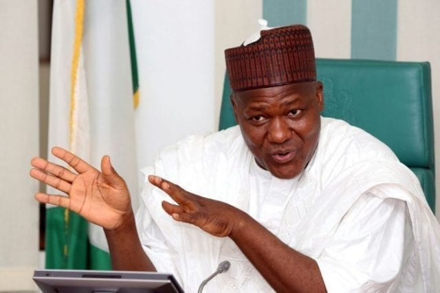 Hon Yakubu Dogara, Speaker of the House of Representatives