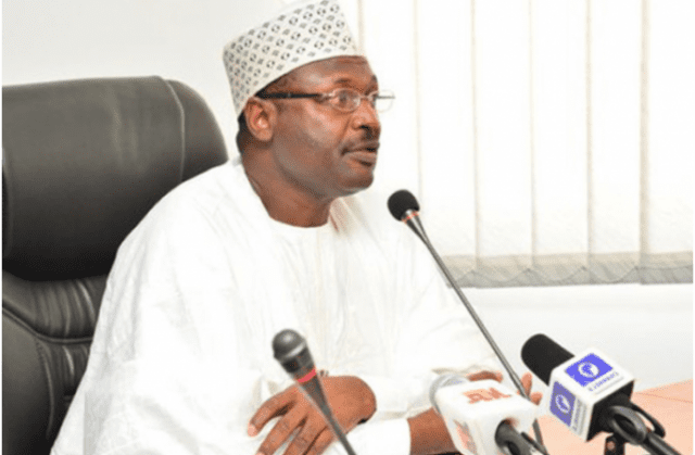 Independent National Electoral Commission INEC Chairman Mahmood Yakubu