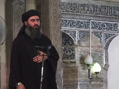 Islamic State of Iraq and the Levant (ISIL) Leader Abu Bakr al-Baghdadi