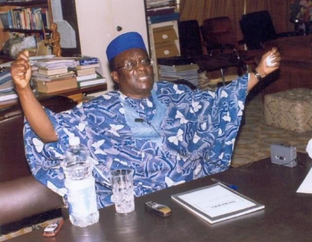 Late Chief Gani Fawehinmi