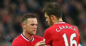 Michael Carrick takes over from Darren Fletcher as Manchester United vice captain