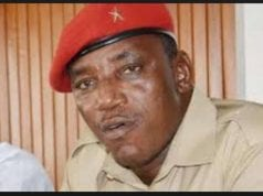 Minister of Youth and Sports Development, Solomon Dalung