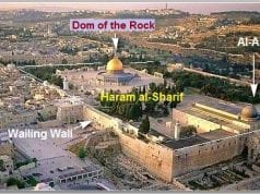 Mount Haram al Sharif Temple in Jerusalem