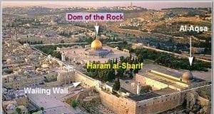 Mount Haram al Sharif Temple in Jerusalem