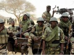 Nigerian Army Troops