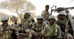 Nigerian Troops Army