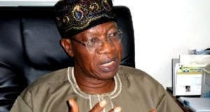 Nigerias Minister of Information and Culture Alhaji Lai Mohammed