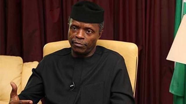 Nigerias Vice President Prof Yemi Osinbajo
